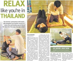DNA Article on School of Thai Massage