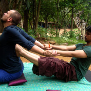 thai massage intermediate training course 3