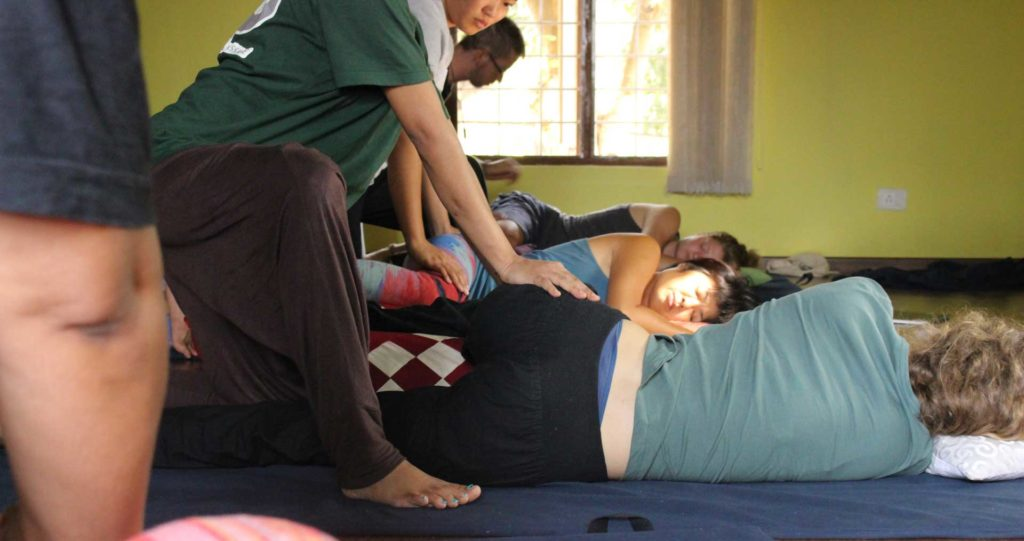 Learning Thai massage helps yoga instructors understand the anatomy of Yoga poses.