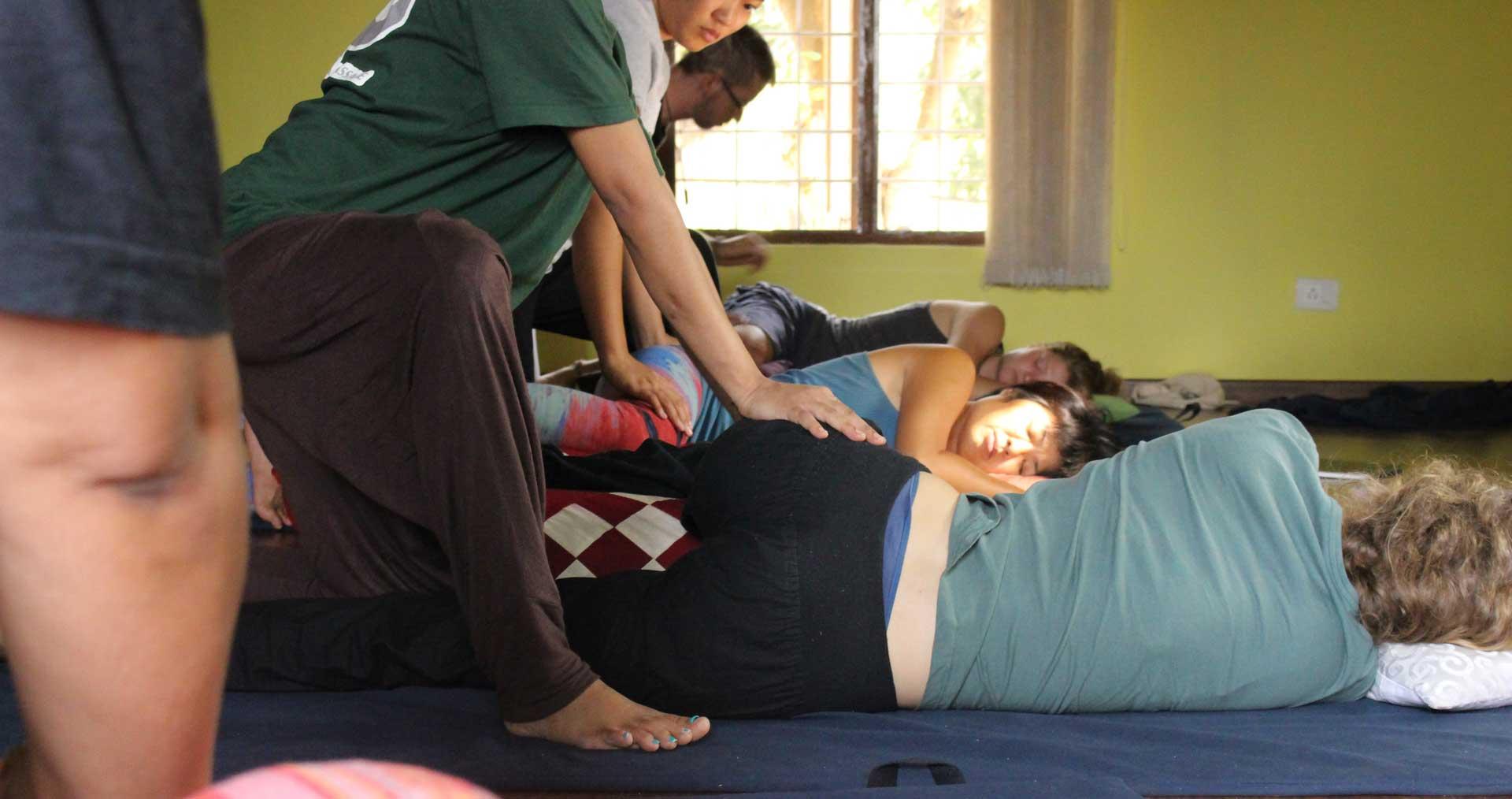 Thai Massage Basic Course - June '19 Mysore