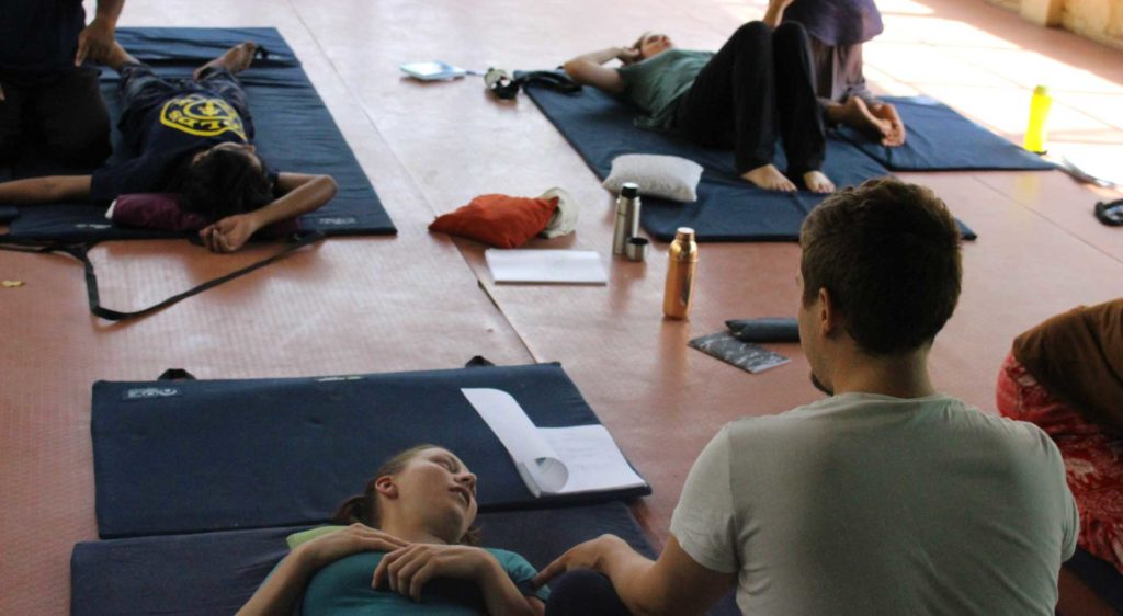 Thai Massage trainings focus on anatomical explanations for each move