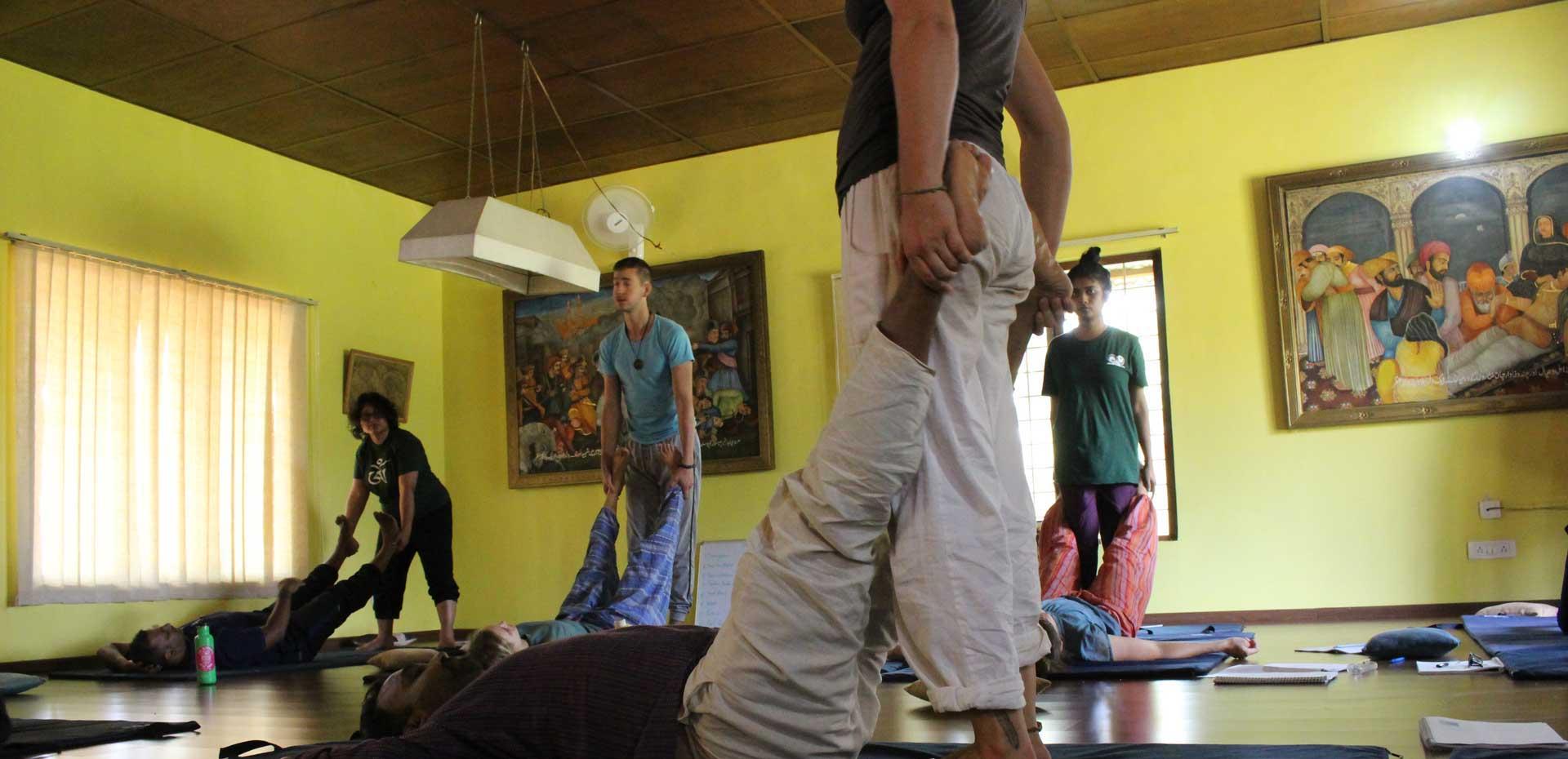 Thai Massage Basic & Intermediate Course - December '19 Mysore